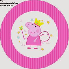 Place a wedding that is certainly basic, stylish, as well as fantastic! Little piggies will Pig Birthday Cakes, 2nd Birthday Parties, Princess Peppa Pig Party, Pippa Pig, Peppa Pig Imagenes, Peppa Pig Printables, Fairy Templates, Pig Candy, Cumple Peppa Pig