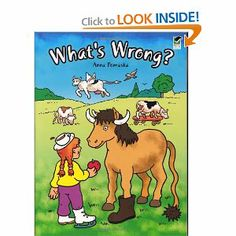 What's Wrong? (Beginners Activity Books) by Anna Pomaska. Save 10 Off!. $3.59. Publisher: Dover Publications (July 3, 1997). Publication: July 3, 1997. Series - Beginners Activity Books