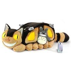 TOTORO NEKOBUS CAT BUS  Plush BIG SIZE STUDIO GHIBLI House of the cat bus Chat Bus, My Neighbor Totoro, Obi Wan, Pusheen, Miyazaki, Little Sisters, Studio Ghibli, Neko, Anime