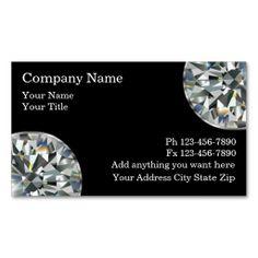 Jeweler Business Cards