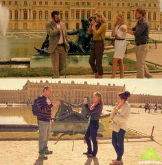 Versailles - Midnight in Paris Filming Locations, Versailles, Around The Worlds, Paris, Movies, Montmartre Paris, Films, Paris France, Cinema