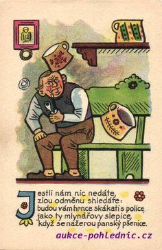 ... European Countries, Czech Republic, Folklore, Illustrators, The Past, Graphics, Retro, Artist, Pictures
