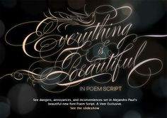 [poem script by Alejandro Paul]  My father was a leftie whose handwritting was a beautiful Spencerian Script