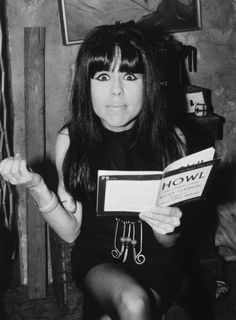 Pia Zadora (as Beatnik Chick) from John Waters' Hairspray, 1988