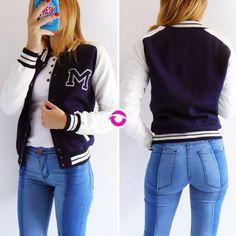 Back to school  [CAMPERA UNIVERSITARIA] $650   [JEAN TUCSON] $730  Local Belgrano Envíos Efectivo y tarjetas 3 cuotas sin interés Tienda Online www.oyuelito.com.ar  #followme #oyuelitostore #stylish #styles #fashion #model #fashionista #fashionpost #ootd #moda #clothing #instafashion #trendy #chic #girl #trends #outfitoftheday #selfie #showroom #loveit #look #lookbook #inspirationoftheday #modafemenina