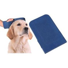 Pet Buddies Grooming Dog Mitt is made of a special type of rubber so it's soft on your dog while brushing him.    Ideal for pet bathing, massaging or everyday grooming to remove loose hair and dirt.