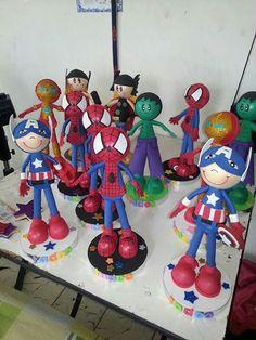 Super heroes!!