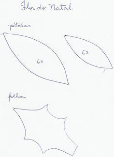 flor da guirlanda de natal - Pesquisa Google