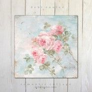 """Romantic Shabby Chic """"Harmony"""" Roses by Debi Coules"""