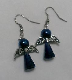 Angel earrings by JulianasDesignIdeas on Etsy