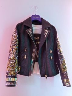 Cool kids fashion studded biker jacket at River Island for fall/winter 2014