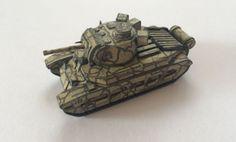 WWII Infantry Tank Mark II Matilda Free Paper Model Download