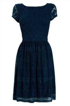 528c279ae79 Платья с нежным кружевом. 0 Navy Lace