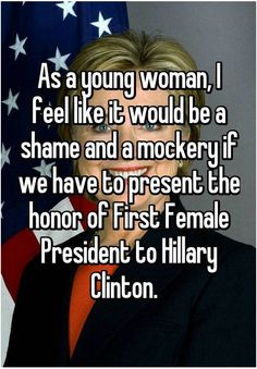 Hillary Clinton As The First Female President? Not If These Women Have Their Say... - Chicks on the Right