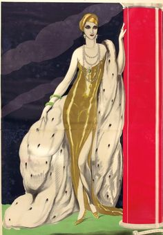 "A gleaming lady - Art by Umberto Brunelleschi - Board ""Art - Umberto Brunelleschi"" -"
