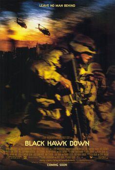 Black Hawk Down 27x40 Movie Poster (2001)