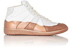 "Maison Margiela Patent-Dipped ""Replica"" Sneakers - Sneakers - Barneys.com"