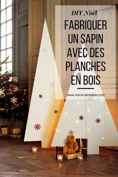 DIY Noel / fabriquer un sapin avec des planches en bois / diy christmas tree