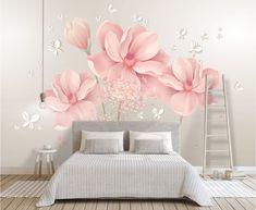 Paper Wallpaper, Butterfly Wallpaper, Home Wallpaper, Self Adhesive Wallpaper, Peel And Stick Wallpaper, Wallpaper Paste, Adhesive Vinyl, Pink Wallpaper Bedroom, Wall Murals Bedroom