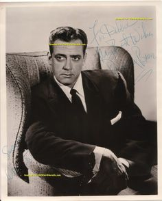 Perry Mason- I had such a crush on Raymond Burr as a little girl!