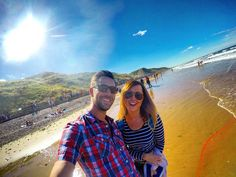 yes the sky really was as blue as this! love this woman to bits... still bloody annoys me at times but i imagine the feeling is mutual!  #igers #instagood #bestoftheday #like4like #instaphoto #gopro #instalike #goprouniverse #goprophotography #gopronation #goprolife #instalike #instadaily #goprocool #instacool #hero4 #HD #family #selfie #beach