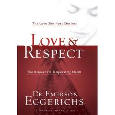 Love & Respect, by Emerson Eggerichs.  - My absolute favorite book on marriage.