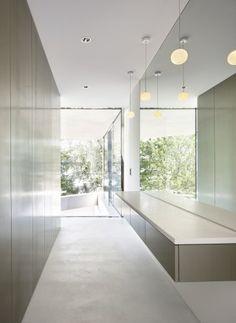 Die Grundrissdisposition bietet Schutz in der Tiefe des Baukörpers   Bearth & Deplazes Architekten AG ©Ralph Feiner Fotografie, Malans