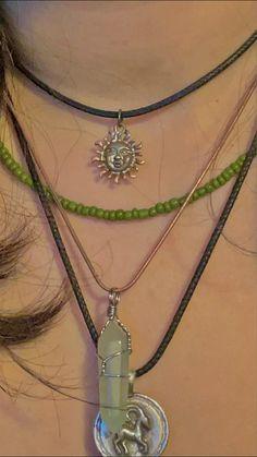 Grunge Jewelry, Funky Jewelry, Hippie Jewelry, Cute Jewelry, Jewelry Rings, Jewelery, Jewelry Accessories, Silver Jewelry, Pulseras Kandi