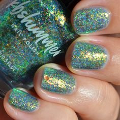 KBShimmer Pretty Shore swatch Aqua Color, Teal Blue, Green Colors, Nail Polish Blog, Nail Polish Brands, Copper Red, Little Things, Summer Collection, Swatch