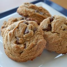 Chewy Peanut Butter Chocolate Chip Cookies - Allrecipes.com