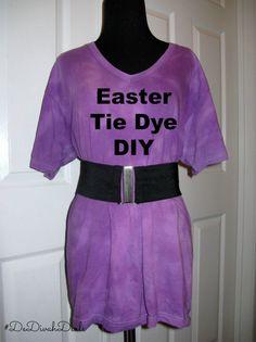 """I added """"Easter Tie Dye DIY"""" to an #inlinkz linkup!http://dedivahdeals.com/easter-tie-dye-diy/"""