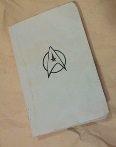 #DIY #cahier #sketchbook #notebook #journal #Star_Trek