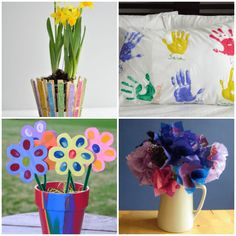 Mother's Day Crafts for Preschoolers to Make and Give