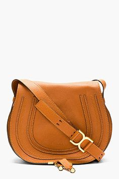 CHLOE Sienna Brown Marcie Medium Satchel