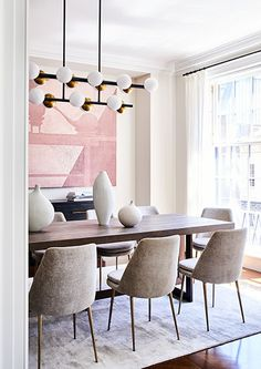 ASH NYC | Gallery Dining Chairs, Dining Room, Staging, Cribs, Layout, Classy, Interior Design, Space, Gallery
