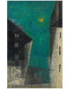 Lyonel Feininger, Untitled (Pulu's Easter Egg) on ArtStack #lyonel-feininger #art