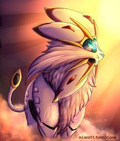 Pokemon - Solgaleo by MiaMaha.deviantart.com on @DeviantArt