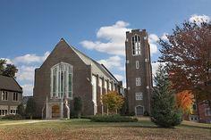 Beautiful Patten Chapel on the UTC Campus