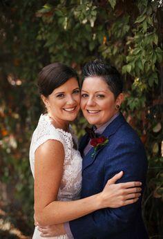 Jenny & Paige LGBTQ Wedding | @handhweddings