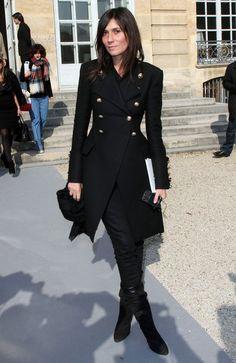 Emmanuelle Alt - Celebrities At The Dior Fashion Show In Paris