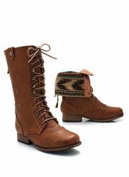southwest cuff combat boots