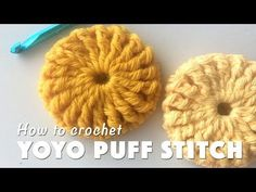 Yo-Yo Puff Blanket [Free Crochet Pattern and Video Tutorial]