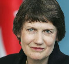 Helen Clark,New Zealand's first elected woman Prime Minister.She is now #3 at the UN