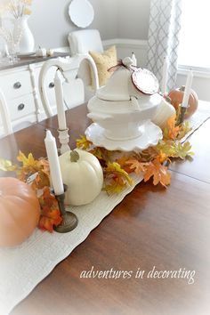 Adventures in Decorating: Our 2015 Fall Dining Room ... and Blog Hop