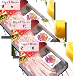 """Scotland-based startup Insignia Technologies developed a """"smart"""" label that changes color over time to indicate how long a package of food has been open.  With the smart food label, the startup aims to help reduce unnecessary waste of food due to confusing or misinterpretation of food labels. Read and view the video on: http://www.psfk.com/2013/11/color-changing-expirations-labels.html"""