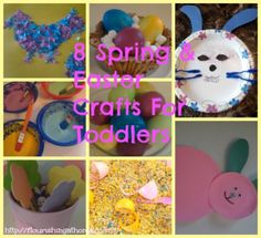 8 Spring & Easter Crafts For Toddlers