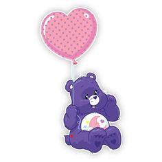 Care Bears Wall Graphics from Walls 360: Care Bear Carnival: Sweet Dreams Bear Heart Balloon