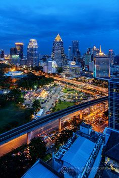Night view - Bangkok, Thailand