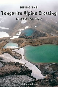 Planning to hike the Tongariro Alpine Crossing in New Zealand? It's probably the best day hike in New Zealand's North Island! Check out our guide to the famous Tongariro Alpine Crossing near Taupo and see why you must experience this place yourself. #hiking #travel #newzealand