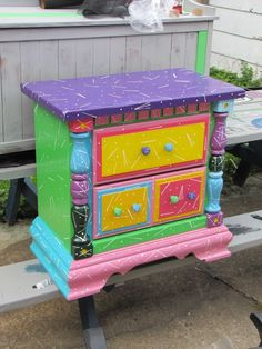 159 best images about funky painted stuff on Pinterest ...